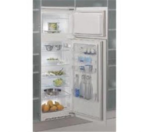réfrigérateur intégrable - whirlpool - réfrigérateur 2 portes