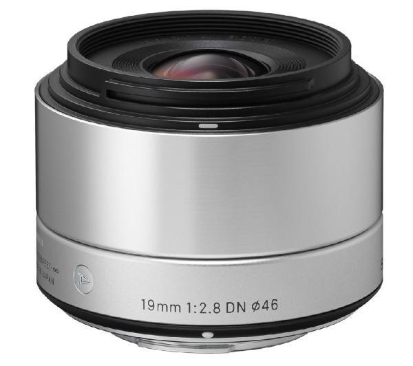 Art 19 mm f/2,8 DN silver - Lens voor Sony - E-mount