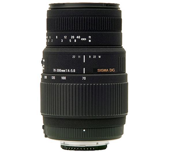 70-300mm F4-5,6 DG Macro Lens voor Pentax