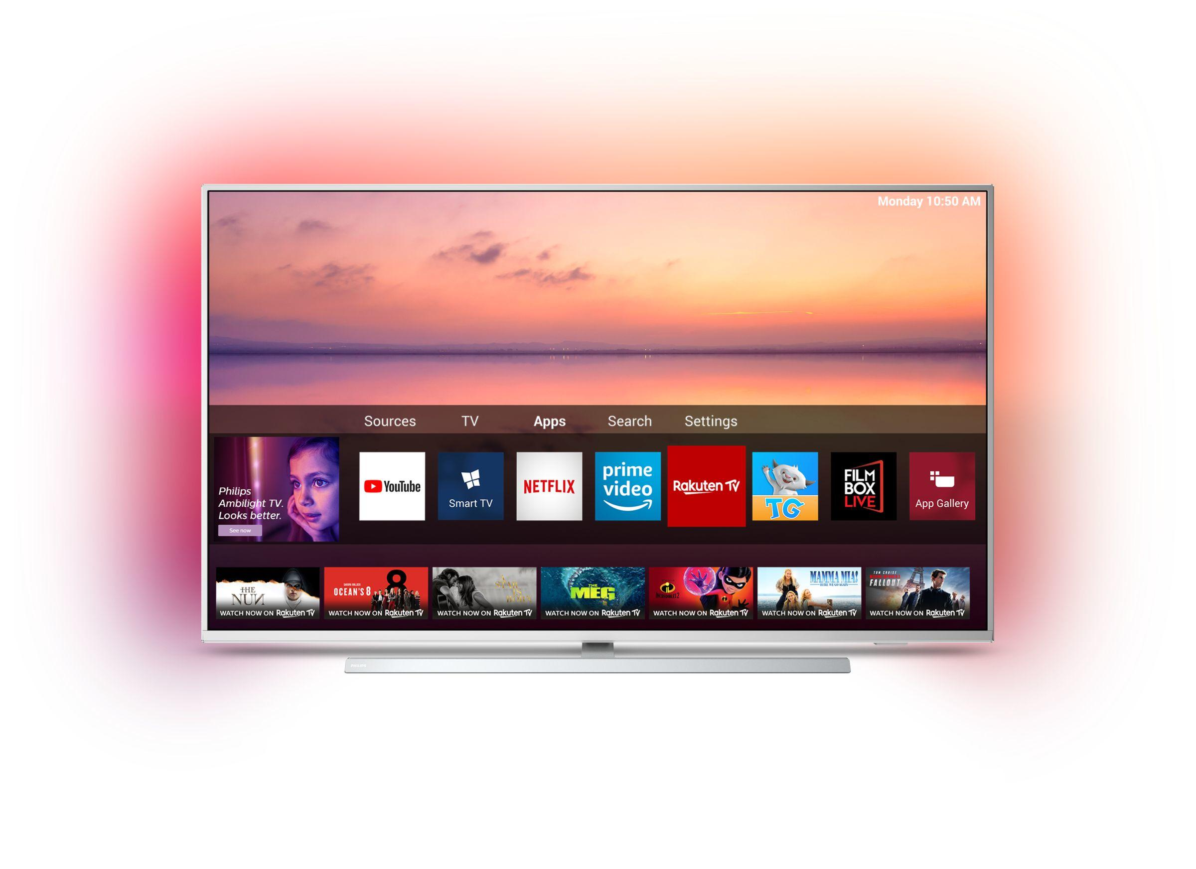 6800 series Téléviseur Smart TV 4K UHD LED 43PUS6804/12