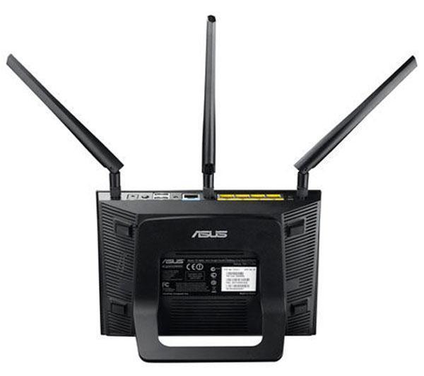 RT-AC66U - Routeur WiFi AC Dual-Band avec switch 4 ports