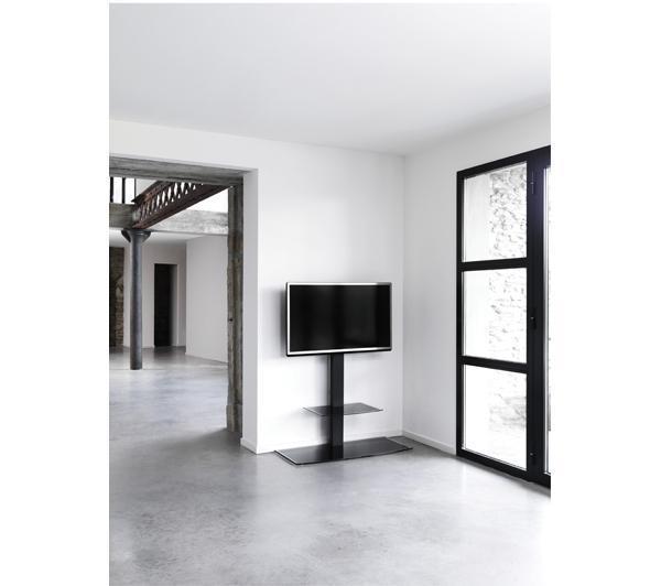 Meuble tv erard studio 1000 colonne orientable pour for Meuble tv colonne