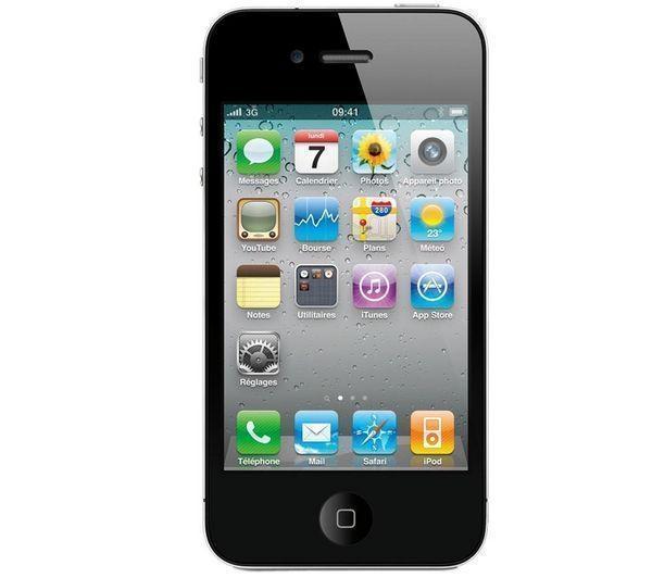 iPhone 4 - 16 GB - Zwart - Gereviseerd