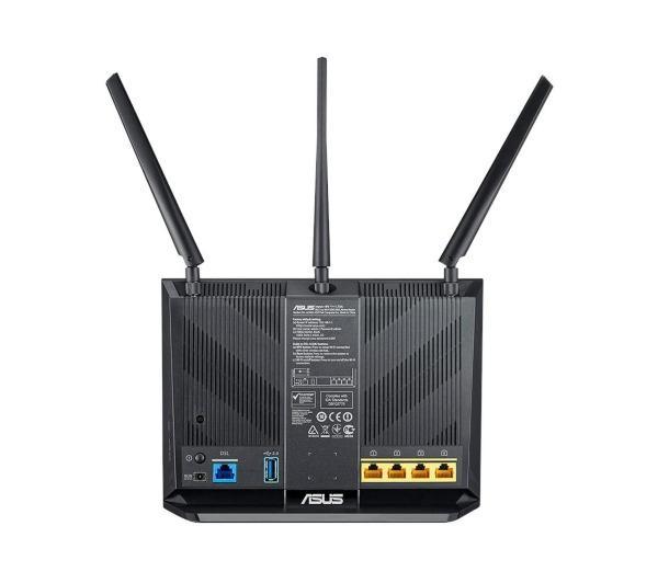 DSL-AC68U Dual-band (2.4 GHz / 5 GHz) Gigabit Ethernet Noir 3G