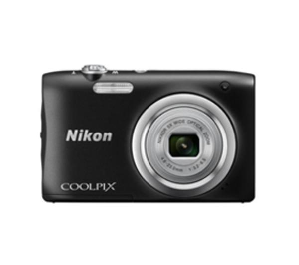 NIKON Coolpix A100 - Appareil photo numérique - compact - 20.1 MP - 720 p / 30 pi/s - 5 x zoom optique - noir
