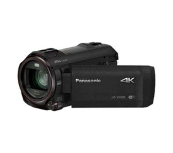 HC-VX980 - Caméscope - Ultra haute définition - 25 pi/s - 18.91 MP - 20 x zoom optique - Leica - carte Flash - Wi-Fi - noir