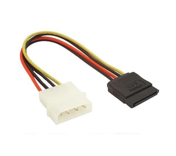 CC-SATA-PS Interne 0.15m SATA Molex (4-pin) câble électrique