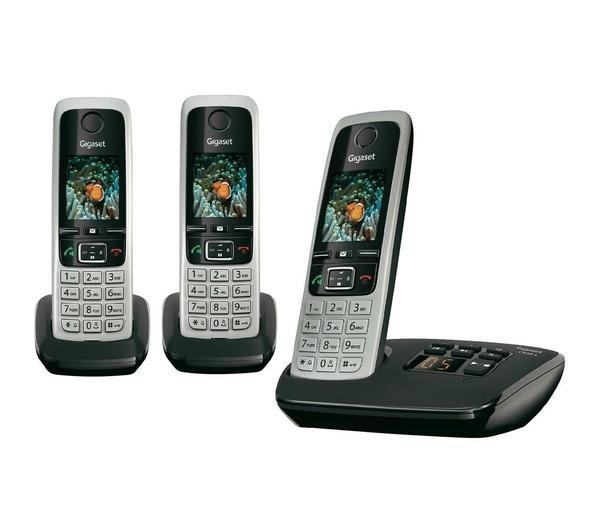 Gigaset Téléphone Analogique Sans Fil C430a Trio Répondeur