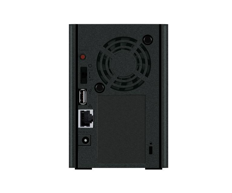 LinkStation 220DR Ethernet/LAN Bureau Noir NAS