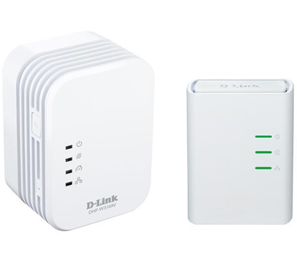 DHP-W311AV/E 500Mbit/s Ethernet/LAN Wifi Blanc 1pièce(s) Adaptateur réseau CPL