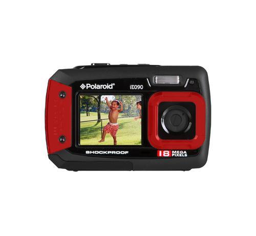 iE090 Appareil-photo compact 18 MP Noir, Rouge