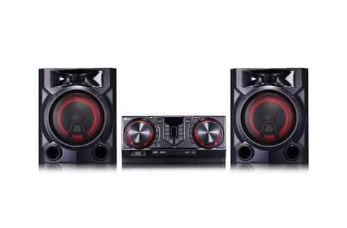 lg cj65 ensemble audio pour la maison syst me micro midi domestique noir rouge micro cha ne. Black Bedroom Furniture Sets. Home Design Ideas