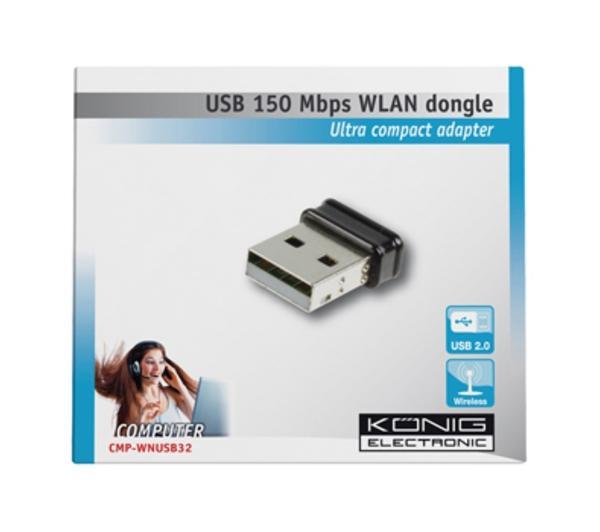 dongle USB WLAN 150 Mbps