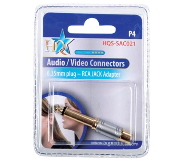 6.33mm - RCA adapter