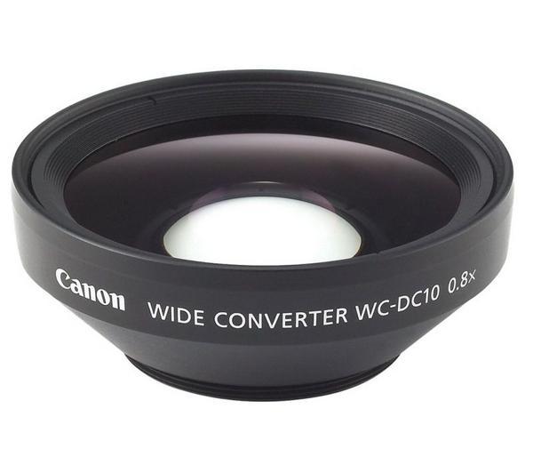 Convertisseurs optiques CANON WCDC10 NOIR