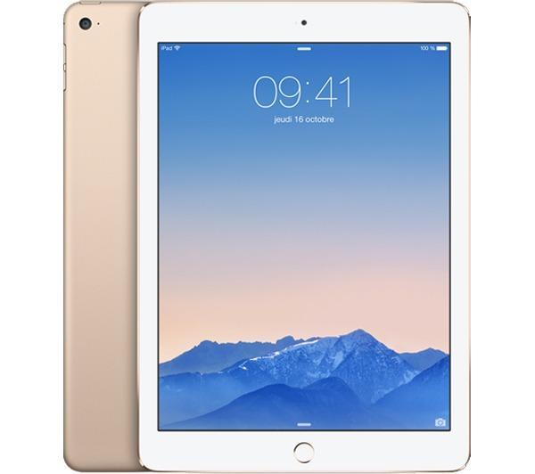 APPLE iPad Air 2 - 16 Go - Wifi + 4G - Or