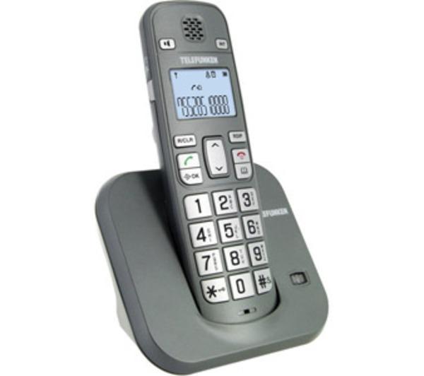 Comparer TELEFUNKEN TB301 GRIS SOLO SANS REPONDEUR