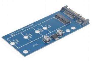 EE18-M2S3PCB-01 Interne mSATA carte et adaptateur d'interfaces