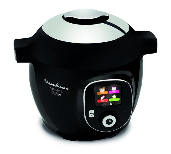 Cookeo+ Connect appareil multi-cuissons 6 L 1600 W Noir