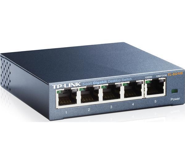 Switch de bureau TL-SG105 5 ports 10/100/1000Mbps