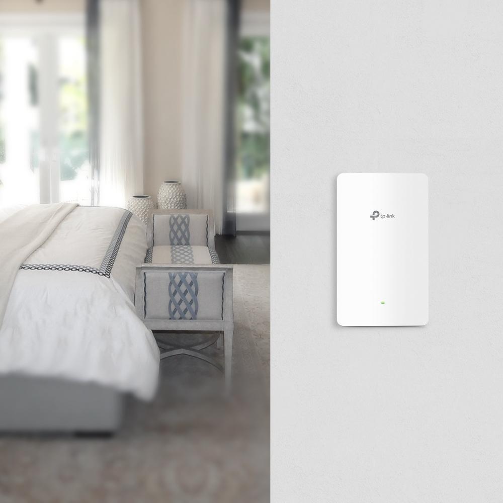 EAP225-Wall point d'accès réseaux locaux sans fil 1200 Mbit/s Connexion Ethernet, supportant l'alimentation via ce port (PoE) Interne Blanc