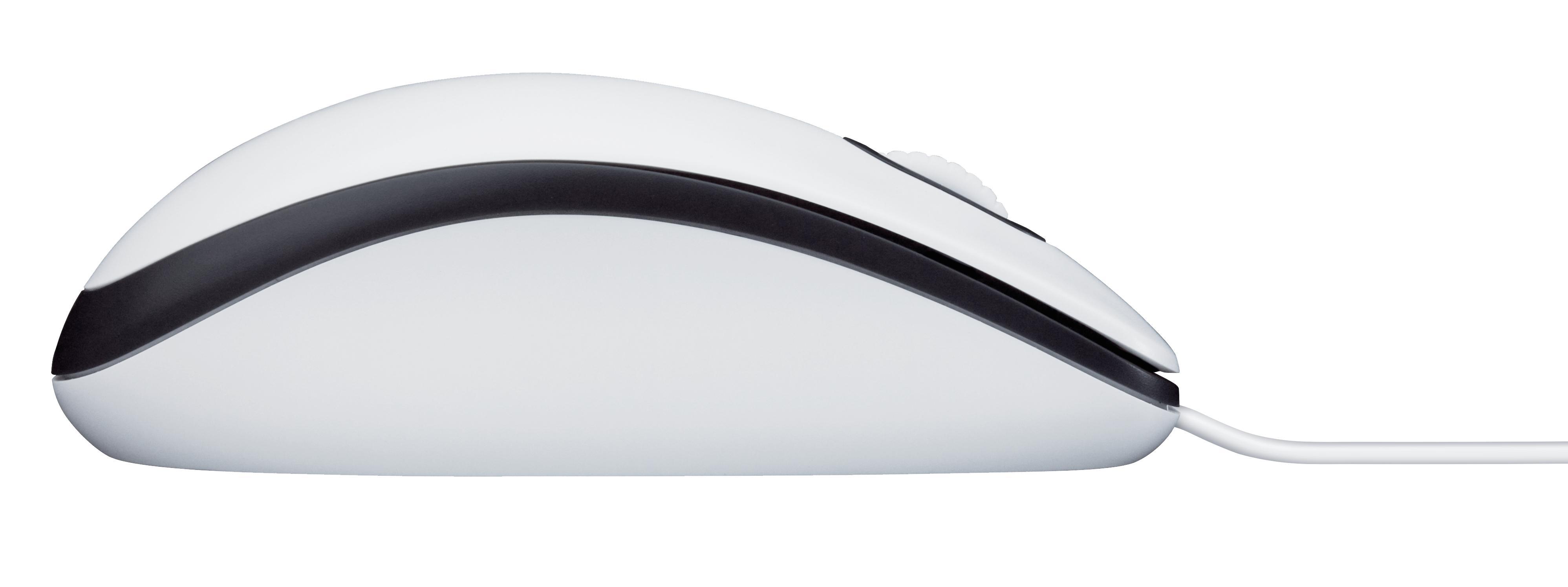 faec414bf59 LOGITECH M100 USB Optique 1000DPI Ambidextre Blanc souris - Souris ...