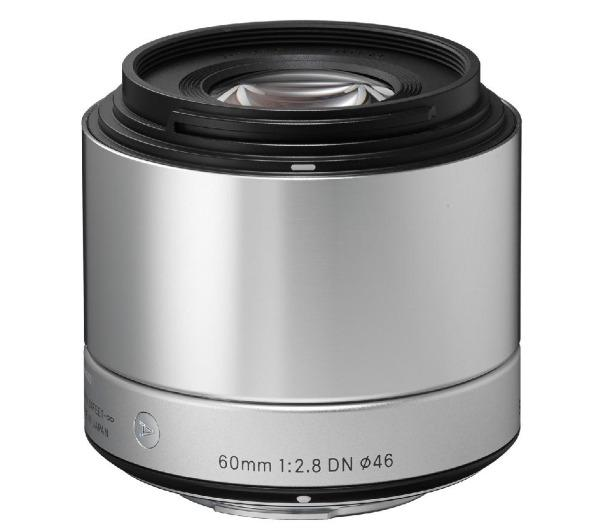 Art 60 mm f/2,8 DN silver - Lens voor Sony - E-mount