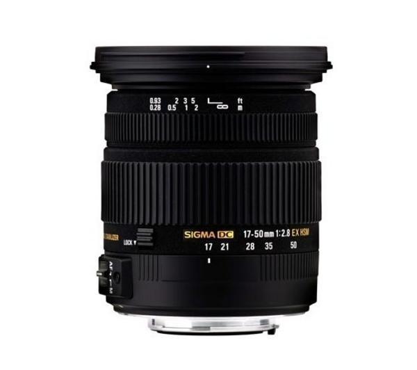 17-50mm f/2.8 EX DC HSM -Lens voor Pentax