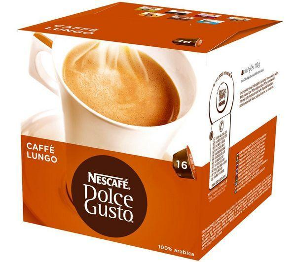 16 capsules Dolce Gusto Caffè Lungo