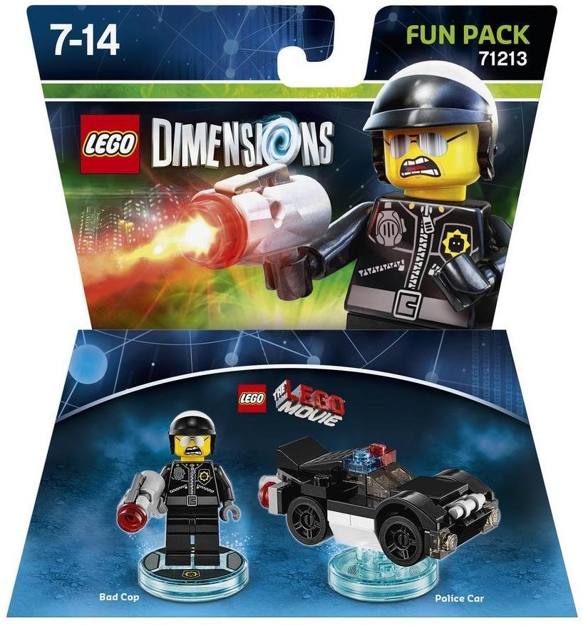 Warner Grande Bros Figurine Dimensions Aventure Lego Mechant La Flic 1lJFKuT3c