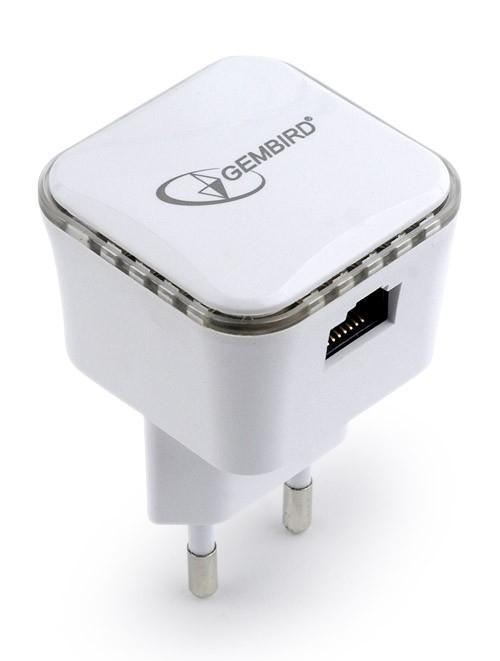 WNP-RP300-01 pont & répéteur 300 Mbit/s Network repeater Blanc