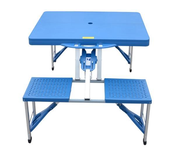 table pique-nique - noname - table de camping pliante portable en