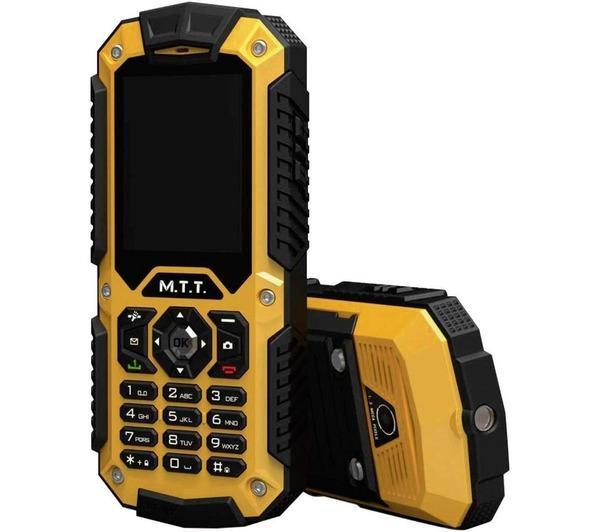 Téléphone GSM MTT PROTECTION 2G NOIR