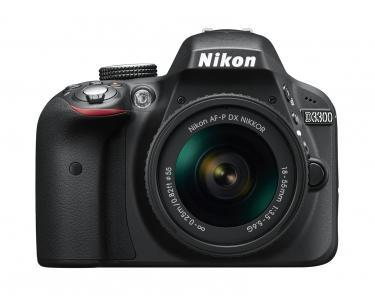 D3300 camera met AF-P 18-55mm VR lens