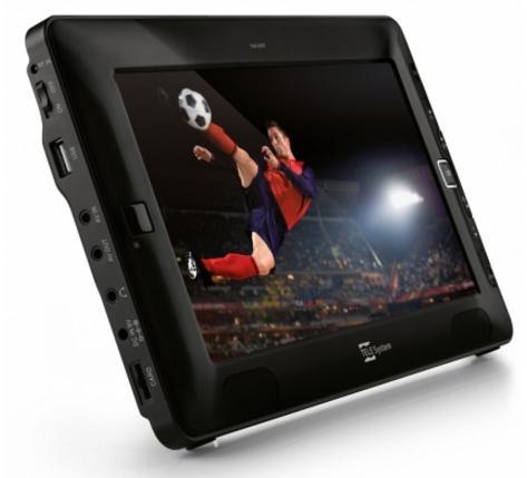 """TS09 DVB-T téléviseur portable 22,9 cm (9"""") TFT Noir"""