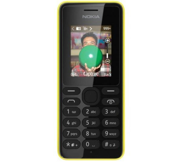 Téléphone GSM NOKIA 108 JAUNE