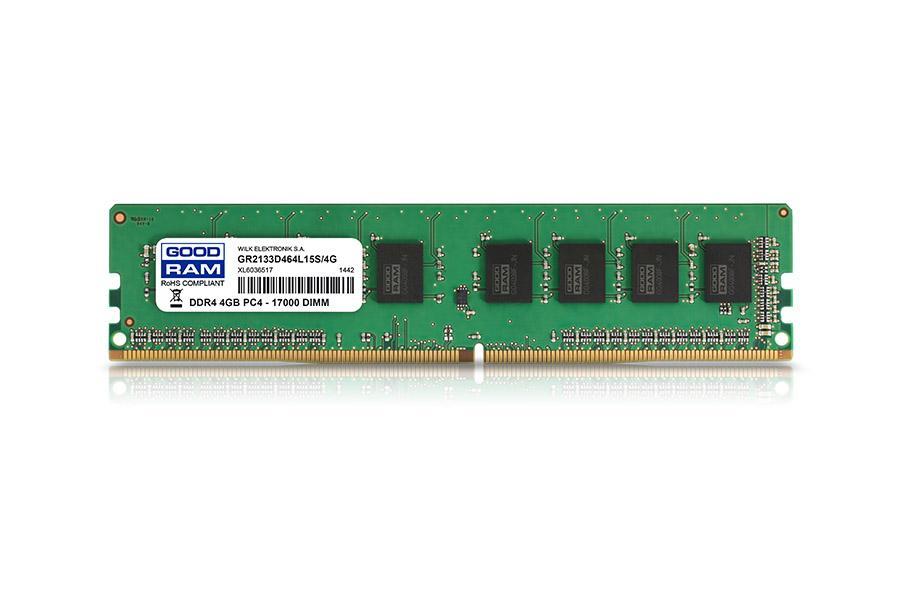 GR2400D464L17S/4G module de mémoire 4 Go DDR4 2400 MHz