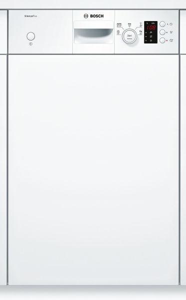 code promo e7e0d 4f078 BOSCH Lave-vaisselle 45cm 9c 46db a+ intégrable avec bandeau blanc