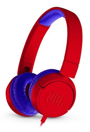 Jbl Jr300 Casque Circum Aural Bandeau Bleu Rouge Casque Hi Fi