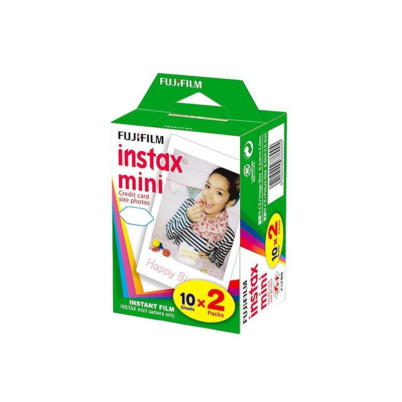Films INSTAX MINI Bipack de 2x 10 vues