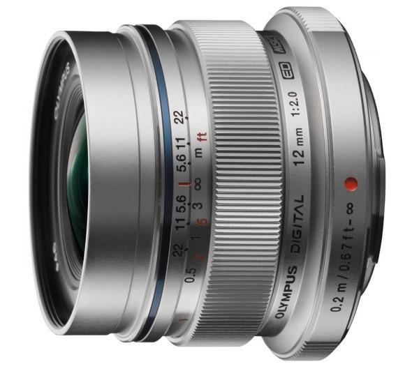 M.Zuiko Digital 12 mm - f/2.0 ED - Lens voor Olympus