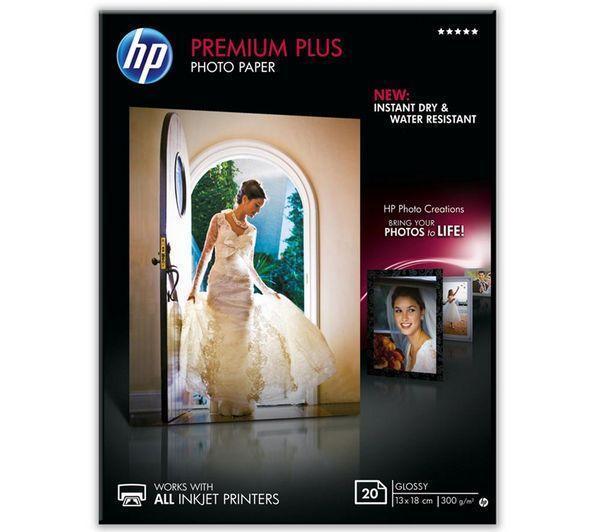 Papier Premium Plus Glossy CR676A - 20 feuilles 13 x 18 cm