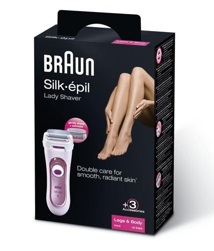 Afeitadora y máquina de cortar pelo para mujer - BRAUN - LS 5360 ... 9feced38bfba