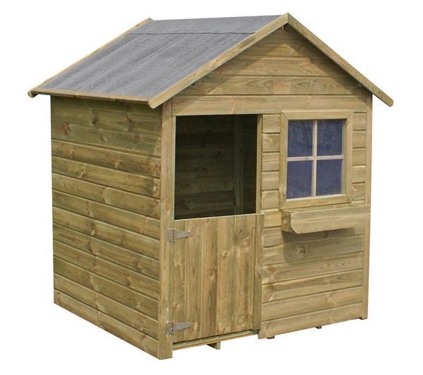 Tente et maison - CERLAND - Maisonnette en bois pour enfants ... 2e0dd0a5b67b