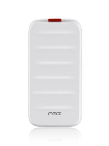 """Fox 4,5 cm (1.77"""") 74 g Blanc Téléphone numérique"""