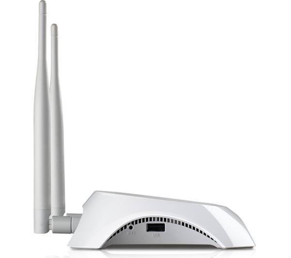TL-MR3420 Fast Ethernet Noir, Blanc routeur sans fil