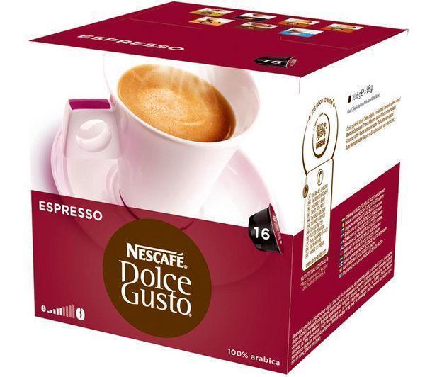 16 capsules Dolce Gusto Espresso