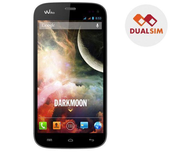 WIKO Darkmoon - zwart - Dual-simsmartphone
