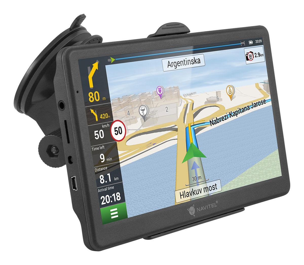 """MS700 navigateur 17,8 cm (7"""") Écran tactile TFT Fixé Noir"""