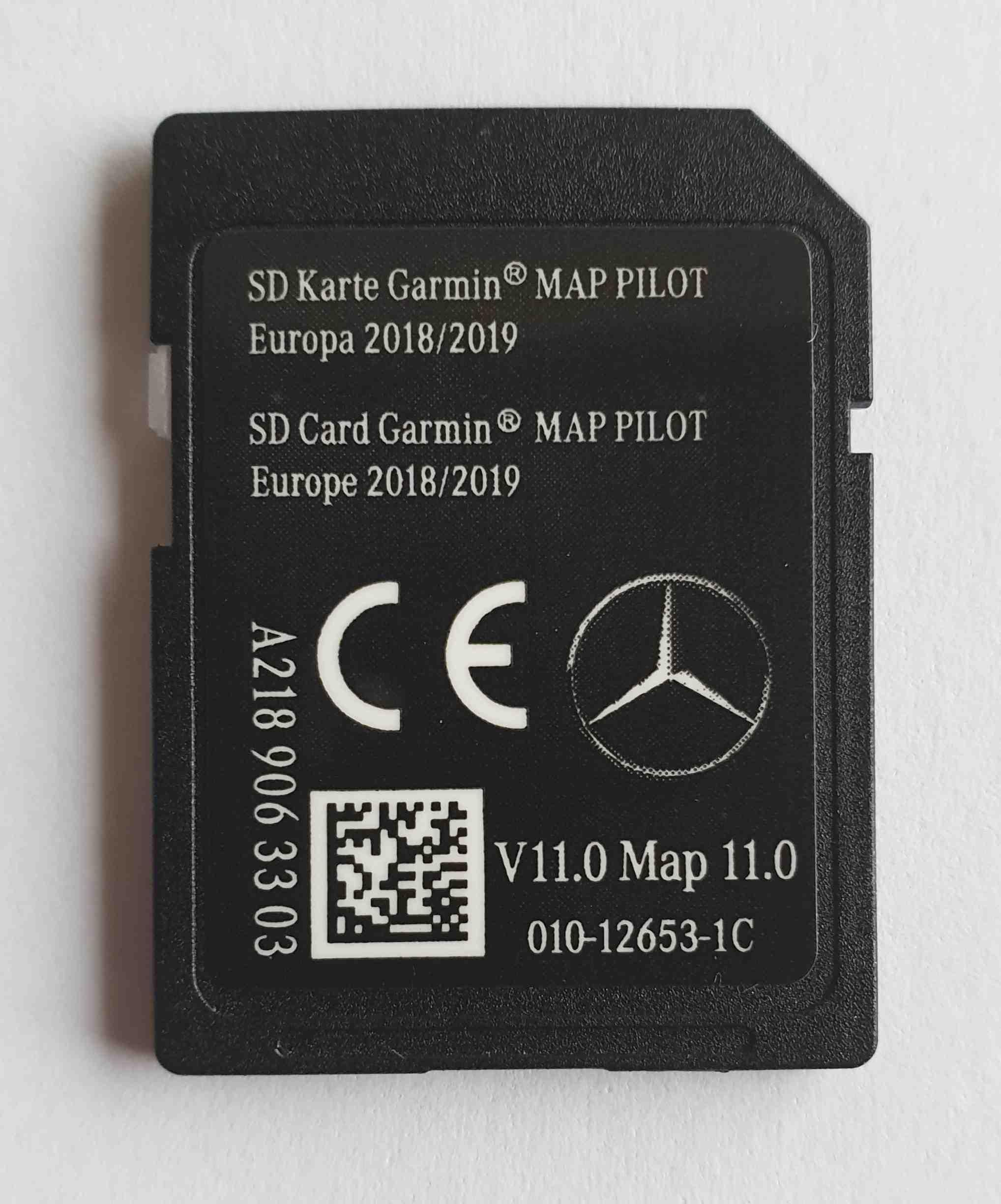 Carte Sd.Mercedes Carte Sd Garmin Map Pilot Europe 2018 2019 Star1 V11